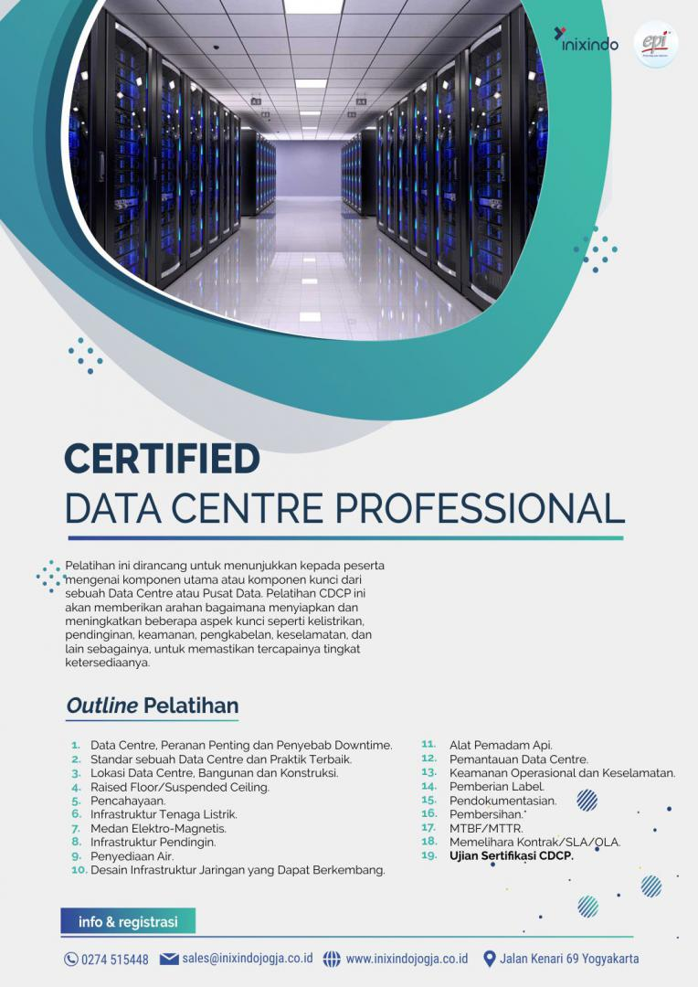 [Online Training] Certified Data Center Professional (CDCP) 6