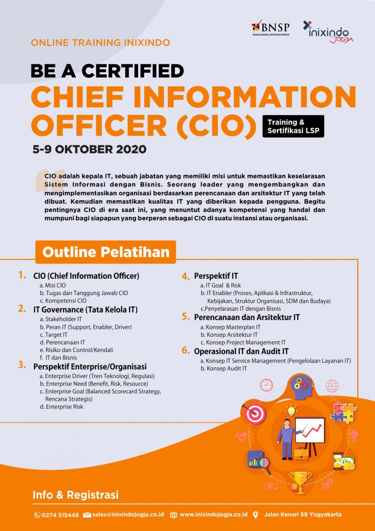 [Online Training & Certification] Chief Information Officer 7