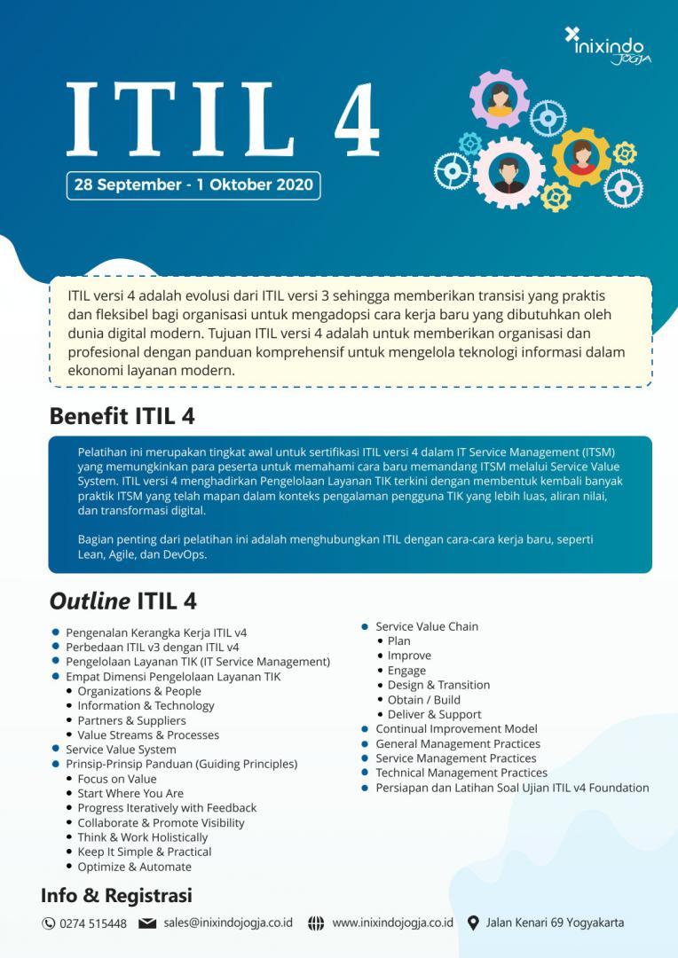 [Online Training] ITIL v4 6