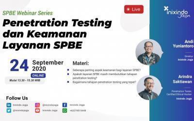 [Webinar] Penetration Testing dan Keamanan Layanan SPBE