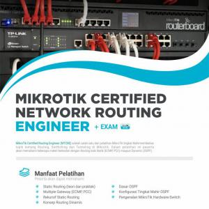 Mikrotik Certified Network Routing Engineer (MTCRE) 32