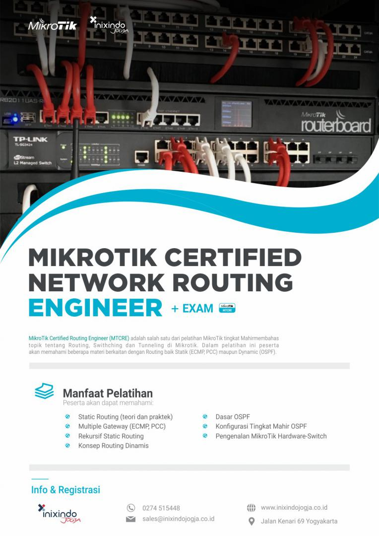 Mikrotik Certified Network Routing Engineer (MTCRE) 7