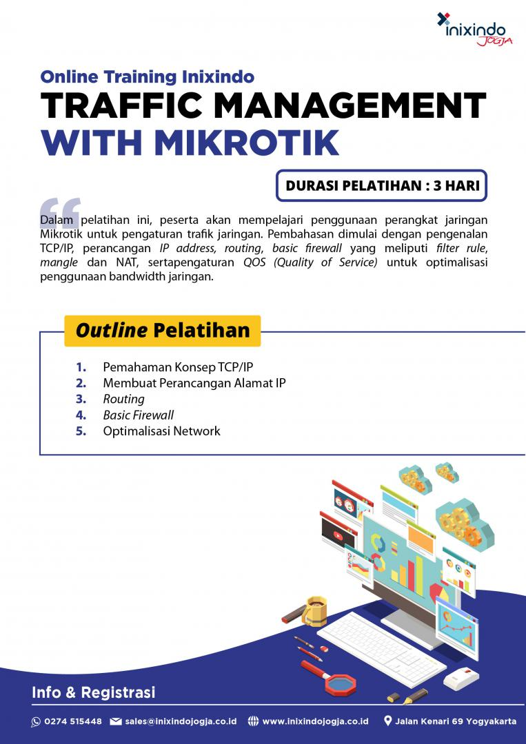 [Online Training] Traffic Management with Mikrotik 6