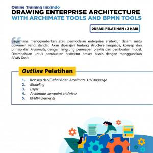 [Online Training] Drawing Enterprise Architecture with Archimate Tools and BPMN Tools 146