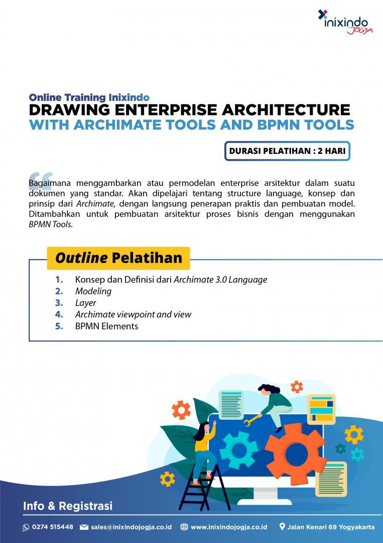 Drawing Enterprise Architecture with Archimate Tools and BPMN Tools 7