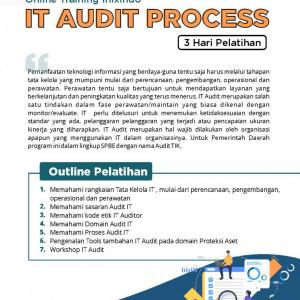 [Online Training] IT Audit Process (Administration and Technical) 98
