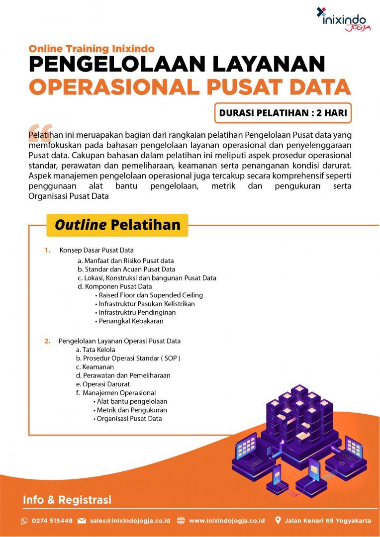 [Online Training] Pengelolaan Layanan Operasional Pusat Data 6