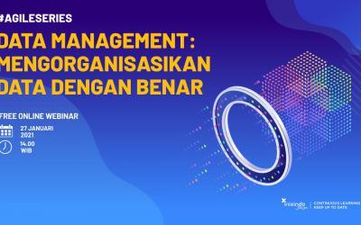 Webinar Data Management: Bagaimana Mengorganisasikan Data dengan Benar