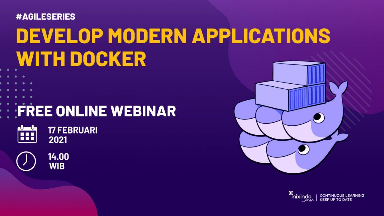 Webinar Develop Modern Applications with Docker 1