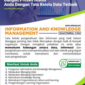 Information and Knowledge Management 114