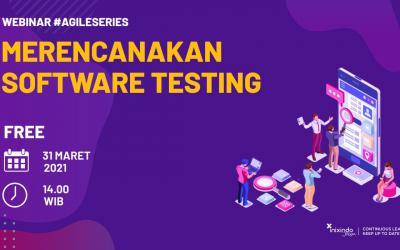 Webinar Merencanakan Software Testing