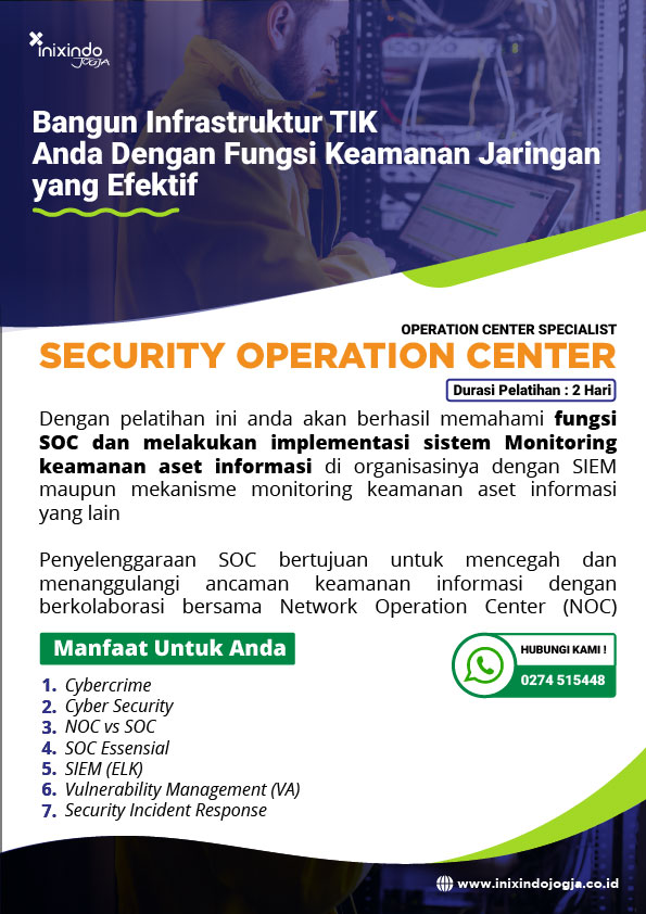 Security Operation Center (SOC) 7
