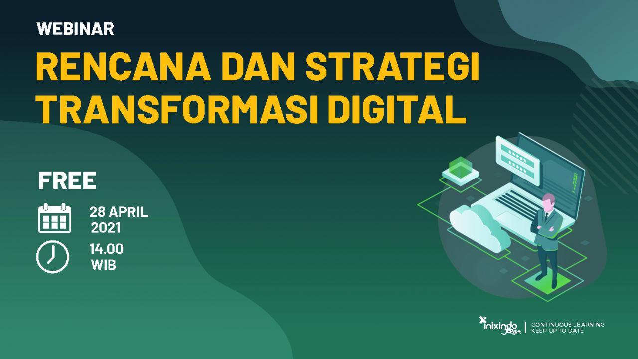 Webinar Rencana dan Strategi Transformasi Digital 1