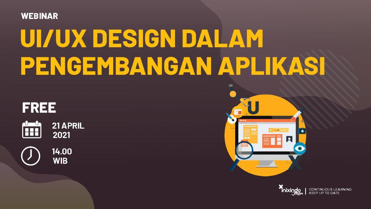 Webinar UI/UX Design dalam Pengembangan Aplikasi 1