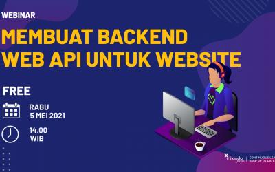 Webinar Membuat Backend Web API untuk Website