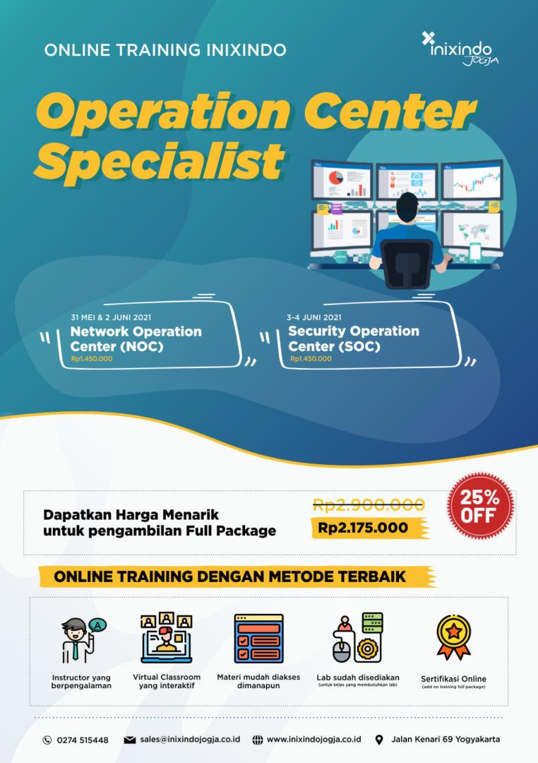 Operation Center Specialist 7