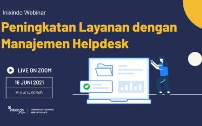 Peningkatan Layanan dengan Manajemen Helpdesk