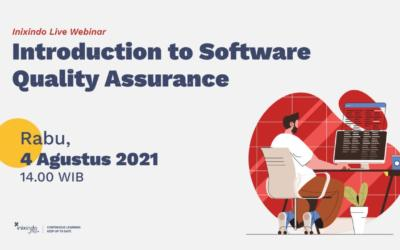 Webinar Introduction to Software Quality Assurance