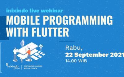 Webinar Mobile Programming with Flutter