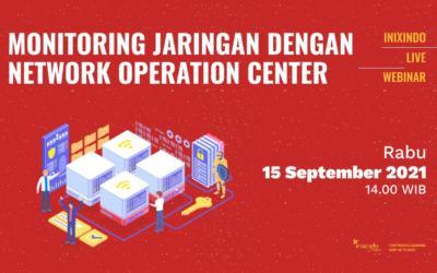 Webinar Monitoring Jaringan dengan Network Operation Center
